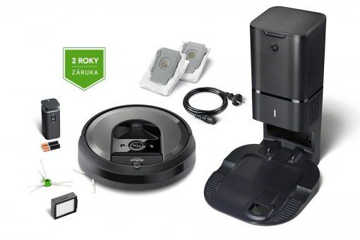 Obsah balenia Roomba i7+
