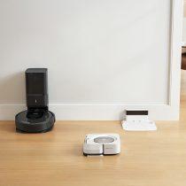 Keď Roomba dovysáva, povie Braave, aby začala mopovať