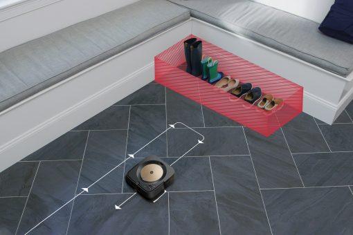 Určenie zakázaných zón v mape, do ktorých Roomba nevstúpi