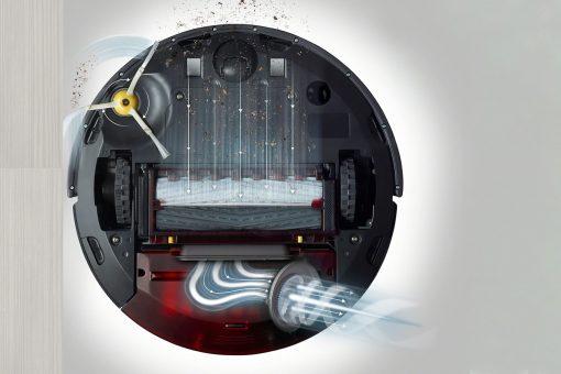 5x výkonnejší patentovaný 3-stupňový systém čistenia