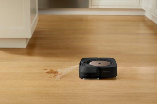 Mokré mopovanie očistí lepkavé nečistoty, zažratú špinu a kuchynskú mastnotu