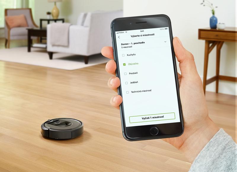 Roomba i7 Rozšírená aplikácia iRobot HOME so Smart Map