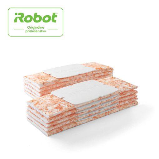iRobot 4535910 Braava jet 200 set jednorazových podložiek na vlhké zametanie, 10 ks