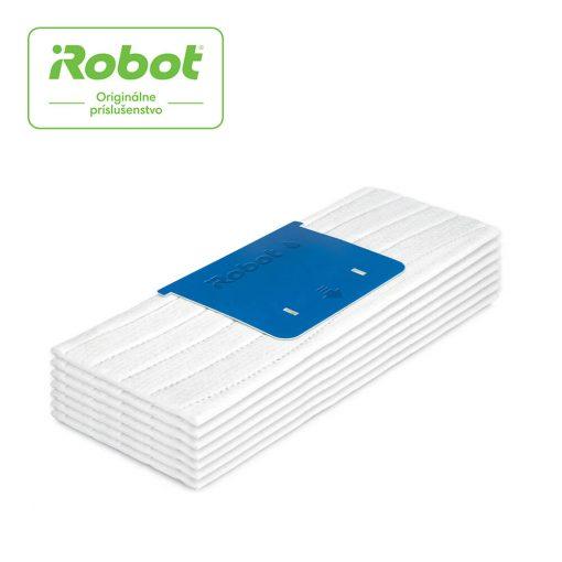iRobot 4632822 Braava jet m6 set jednorazových podložiek na mokré mopovanie, 7 ks