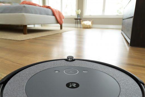 Určenie miestností na čistenie cez apku iRobot Home