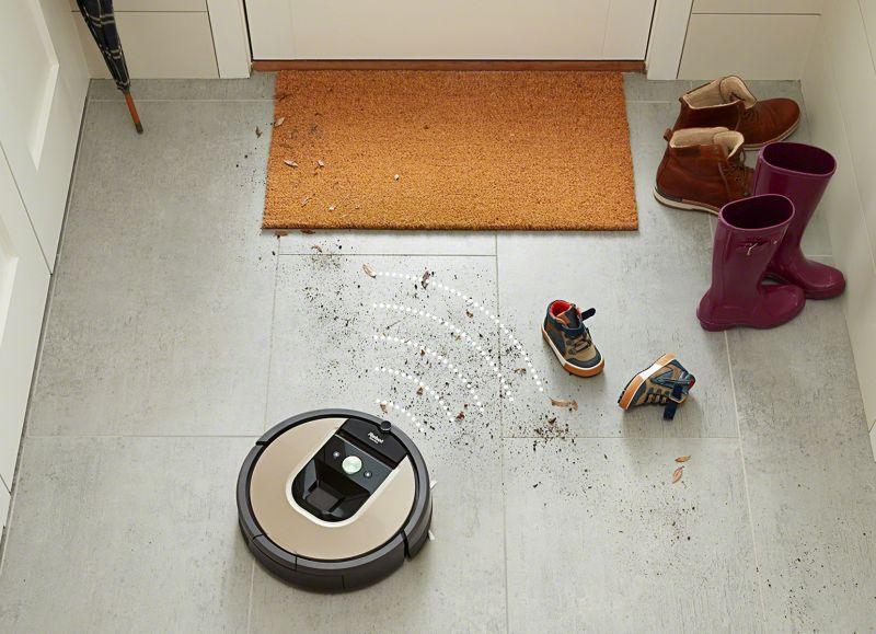 Roomba 976 Vyhľadáva nečistoty
