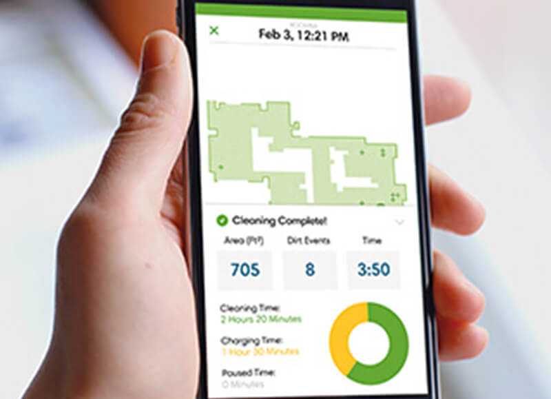 Roomba 976 Rozšírená aplikácia iRobot HOME
