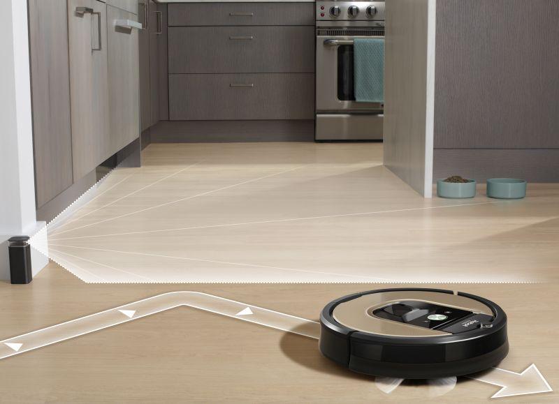 Roomba 976 Vyčlenenie vysávaného priestoru
