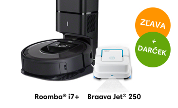 iRobot Roomba i7+ Braava Jet 250