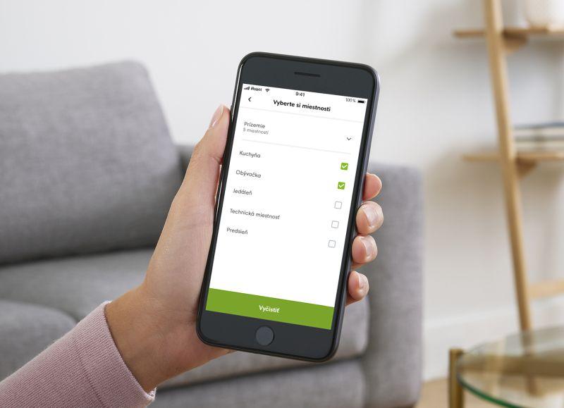 Rozšírená aplikácia iRobot Home