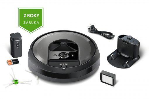 Obsah balenia Roomba i7