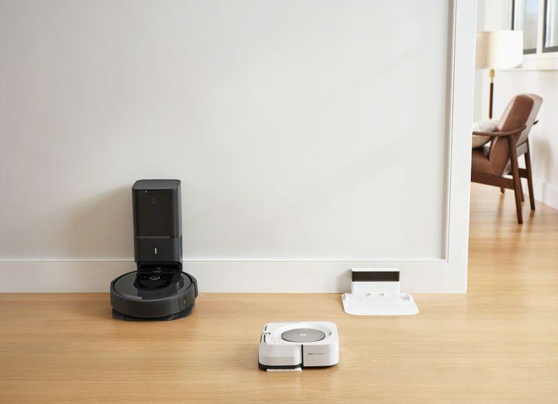 iRobot Roomba i7+ Technológia Imprint Link