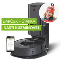 iRobot Roomba i7+ s čiapkou Nasti Kuzminovej