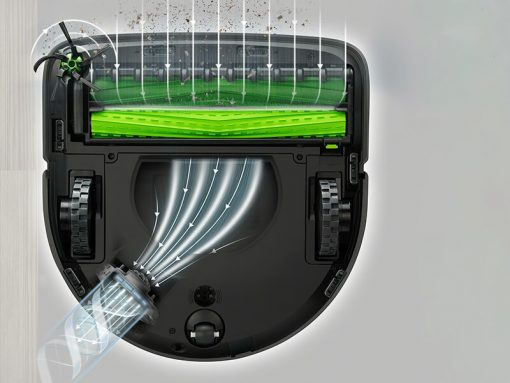 40x výkonnejší patentovaný 3-stupňový systém čistenia
